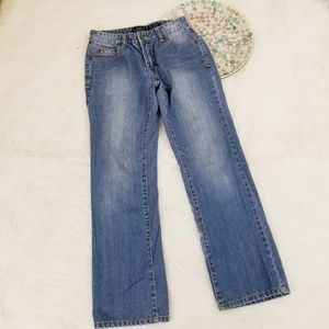 Lucky Brand Girls Jeans Billy Straight High Waist